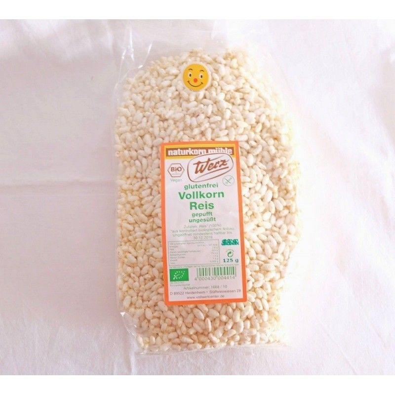 Cereales de arroz inflado