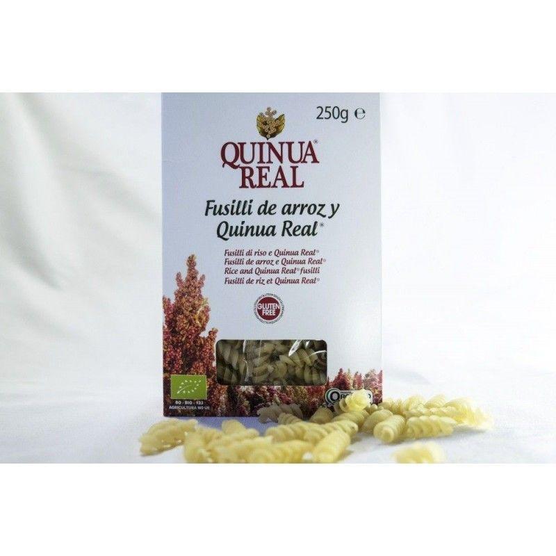 Fusilli de Arroz y Quinoa real