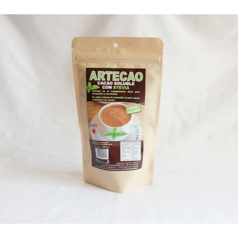Cacao soluble con Stevia