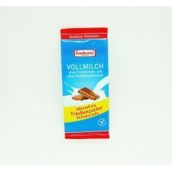 Tableta de chocolate con leche sin lactosa Frankonia