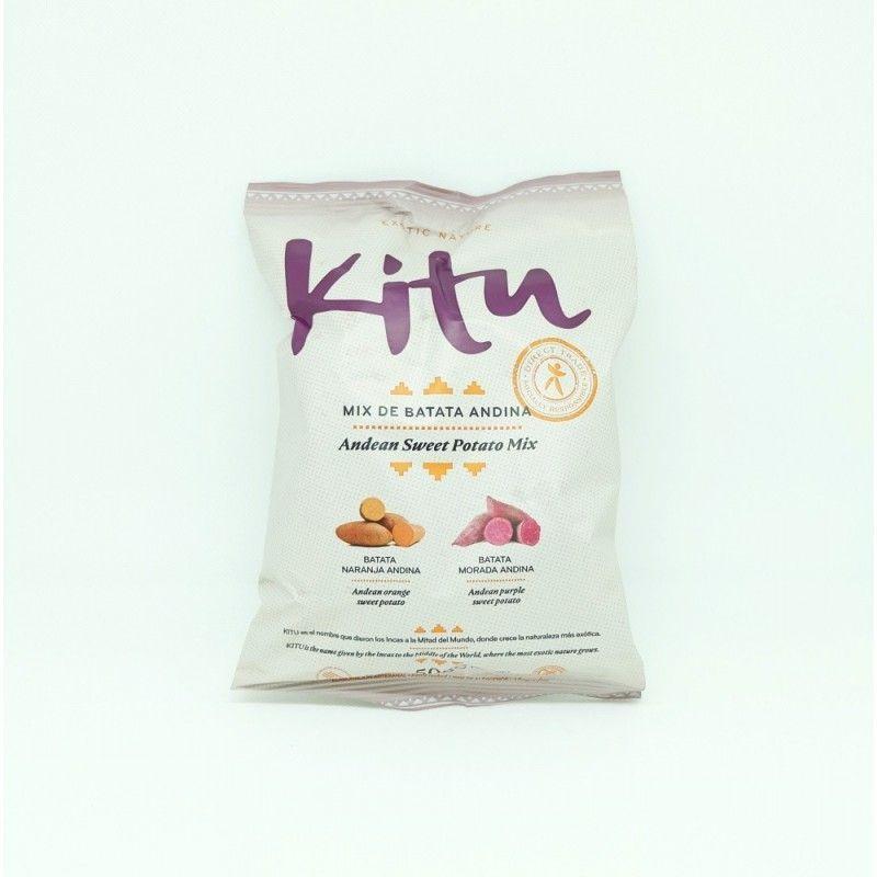 Chips mix batatas Kitu en Amali