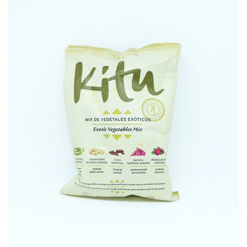 Chips mix vegetales Kitu en Amali